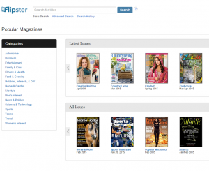 Flipster - Digital Magazines